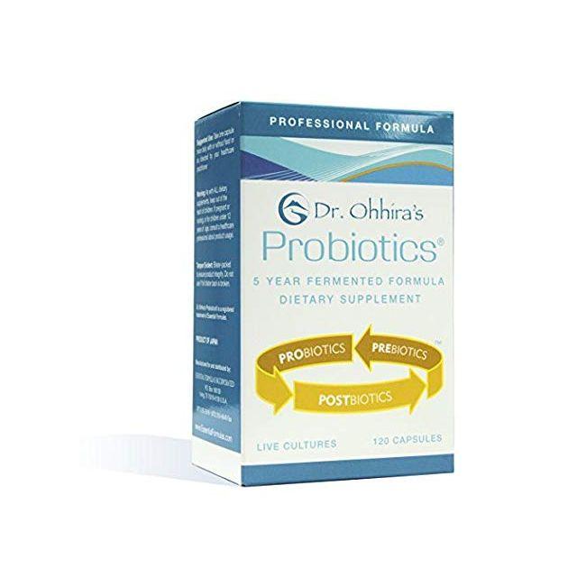 Dr. Ohhira's Professional Formula Probiotics 120 Capsules