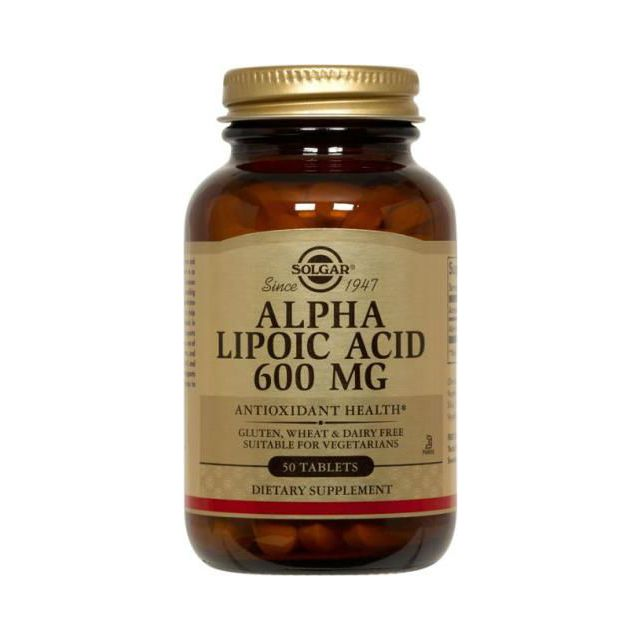 Alpha Lipoic Acid 600 mg Solgar