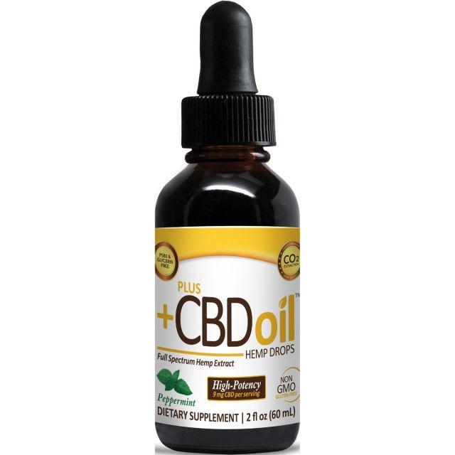 CBD Oil Gold Drops Peppermint