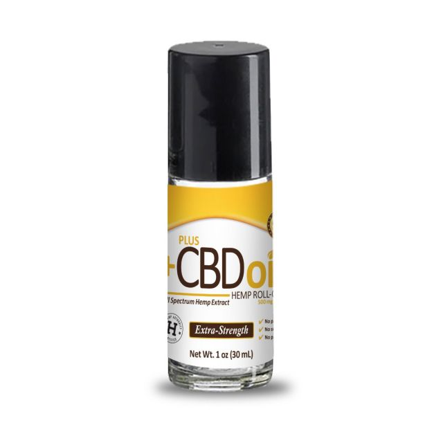 CBD Oil Relief Roll-On 1oz Extra Strength 500 mg
