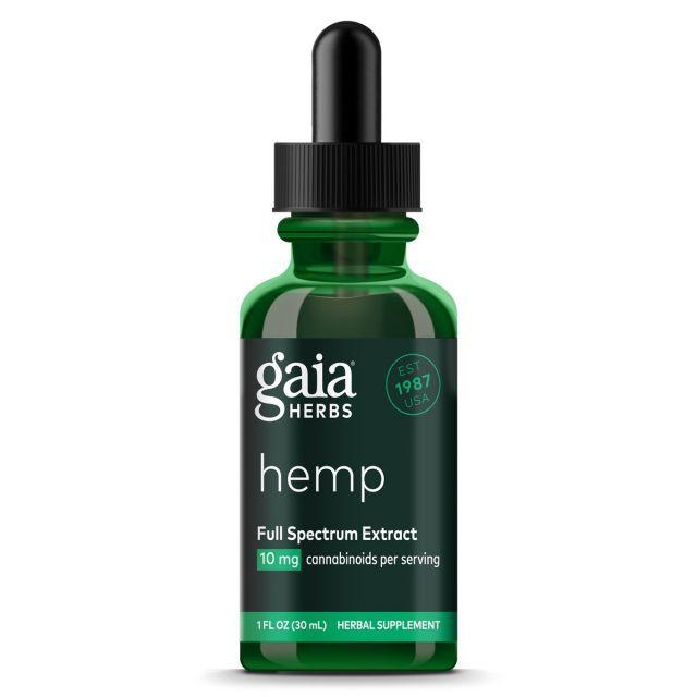 Gaia Herbs Hemp Full Spectrum Extract 20 mg 2 oz