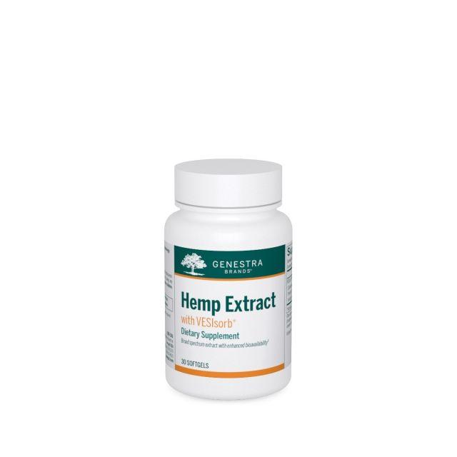 Hemp Extract with VESIsorb 30 softgels Genestra / Seroyal