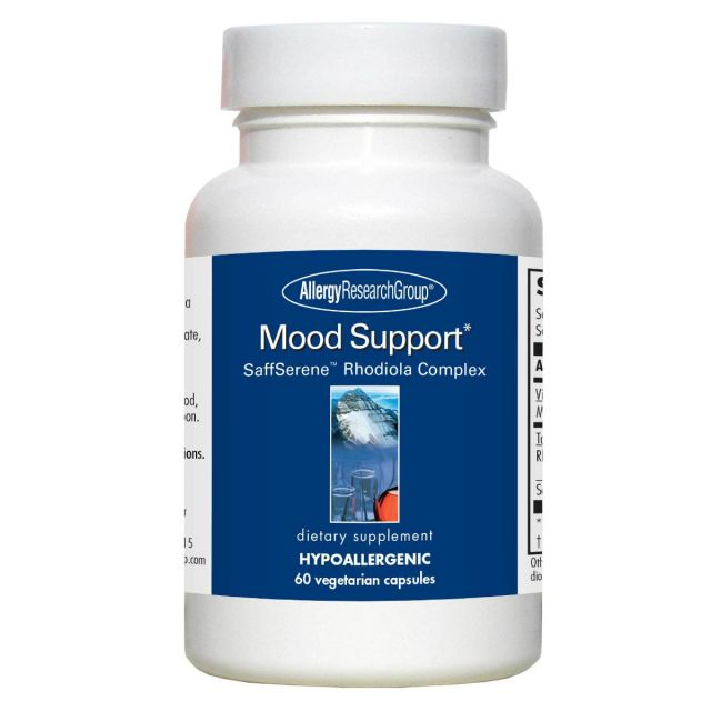 Mood Support SaffSerene Rhodiola Complex 60 caps Allergy Research Group