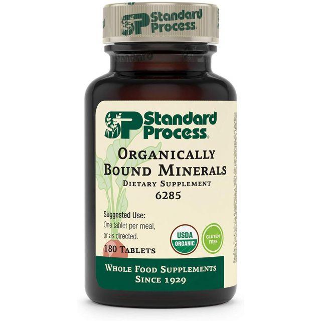 Organically Bound Minerals 180 tabs Standard Process
