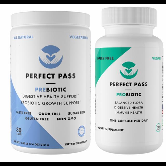 prebiotic and probiotic perfect pass