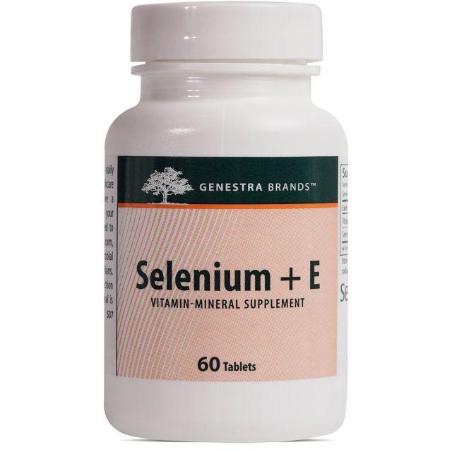 Selenium + E 60 tabs Genestra / Seroyal