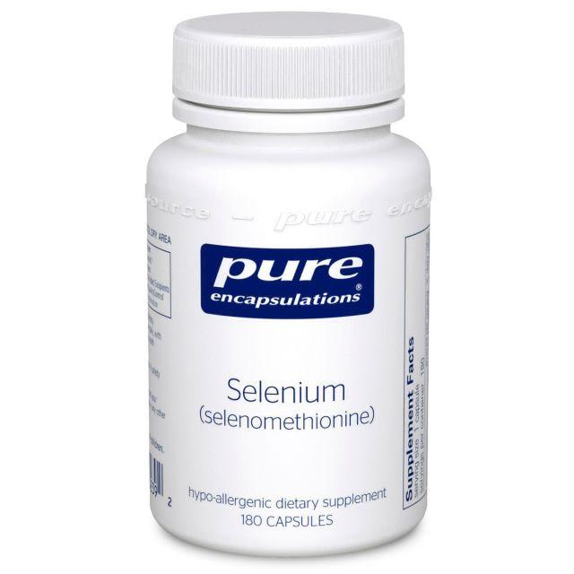 Selenium (selenomethionine) 180 caps Pure Encapsulations