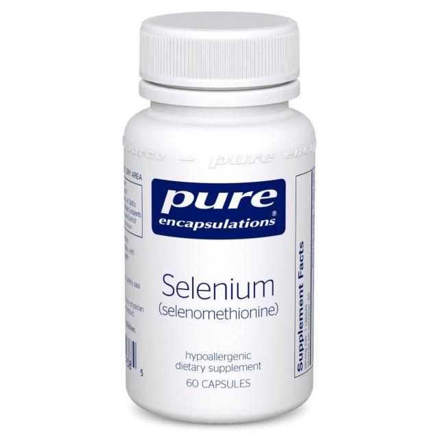 Selenium (selenomethionine) 60 caps Pure Encapsulations