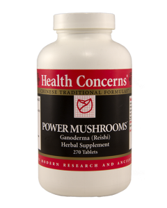Power Mushrooms 270 tabs Health Concerns