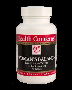 Woman's Balance 90 tabs Health Concerns