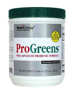 ProGreens Pwd (30 day supply) 9.27oz by Nutricology