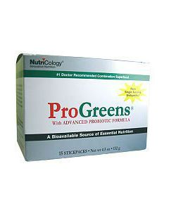 ProGreens Stick Packs 15 by Nutricology