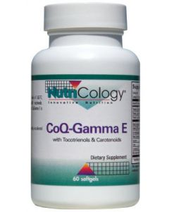 CoQ-Gamma E w/ Tocotrienols & Carotenoids 60 sgels by Nutricology