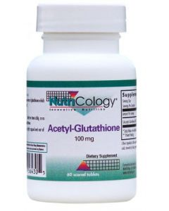 Acetyl-Glutathione 100mg 60 tabs by Nutricology