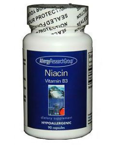 Niacin Vitamin B3 90 caps by Allergy Research Group