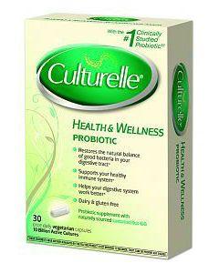 Culturelle with Lactobacillus GG 30 vcaps