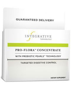 Pro-Flora Concentrate with Probiotic Pearls 30 caps by Integrative Therapeutics
