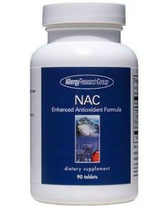 NAC Enhanced Antioxidant Formula 90 tabs by Allergy Research Group