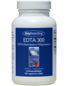 EDTA 300 EDTA Dipotassium Magnesium 180 vtabs by Allergy Research Group