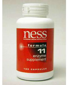 Natural C w/Bioflavonoids #11 180 caps by  Ness Enzymes