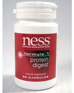 Protein Digest #1 90 caps by Ness Enzymes