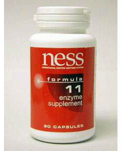 Natural C w/Bioflavonoids #11 90 caps by  Ness Enzymes
