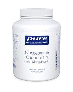 Glucosamine Chondroitin with Manganese 120 Pure Encapsulations