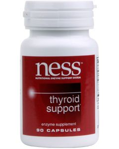 Thyroid Support 90 caps by Ness Enzymes