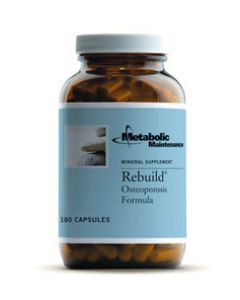 Rebuild Osteoporosis Formula 180 caps Metabolic Maintenance