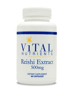 Reishi Mushroom Extract 500mg 60 caps by Vital Nutrients