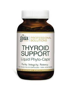 Thyroid Support 120 lvcaps Gaia Herbs