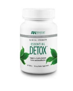Essentail Detox 60 tabs by American Nutriceuticals
