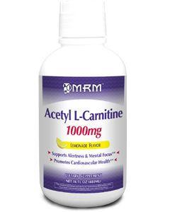 Acetyl L-Carnitine 1000mg 16oz by MRM