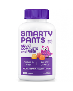 Adult Complete + Fiber 180 gummies by SmartyPants