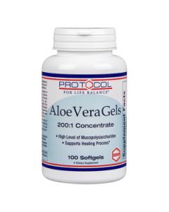 Aloe Vera Gels 100 gels by Protocol For Life Balance