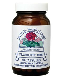 Probiotic 100B 60 vcaps by Ayush Herbs
