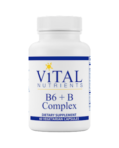 B6 + B Complex 60 caps by Vital Nutrients
