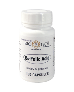 B6-Folic Acid 100 caps by Bio-Tech