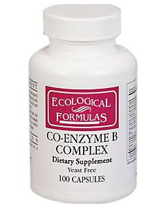 Co-Enzyme B Complex 100 caps Ecological Formulas / Cardiovascular Research