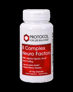 B Complex Neuro Factors 60 vegcaps Protocol For Life Balance