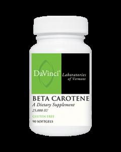 Beta Carotene 25000 IU 90 caps Davinci Labs