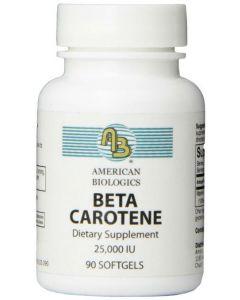 Beta Carotene 25000 IU 90 sgels by American Biologics