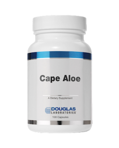 Cape Aloe 250mg 100 caps Douglas Labs