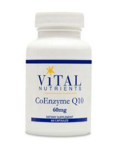 CoEnzyme Q10 60mg 60 caps by Vital Nutrients