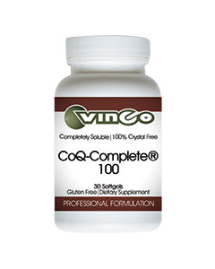 CoQ-Complete 100 30sgels by Vinco
