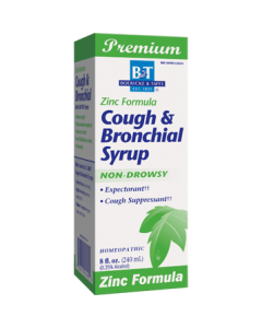 Cough & Bronchial Syrup with Zinc 8 oz Boericke & Tafel