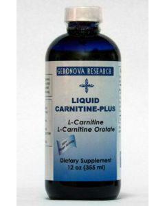 Liquid Carnitine-Plus 12oz by GeroNova Research