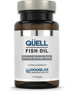 Quell Fish Oil Clinical Strength DHA 60 softgels Douglas Labs