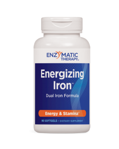 Energizing Iron 90 gels Enzymatic Therapy