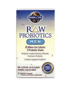 RAW Probiotics Men 90 vcaps Garden of Life